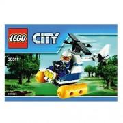 LEGO City Pantano Policía Helicóptero Mini Set #30311 (Embolsado)