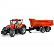 Bruder Tractor with Trailer Case IH Optum 300 CVX 1:16 03199