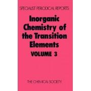 Inorganic Chemistry of the Transition Elements: Volume 3 by B. F. G. Johnson