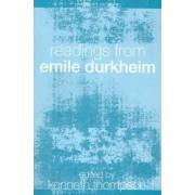 Readings from Emile Durkheim by Professor Kenneth Thompson