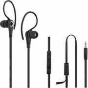 Casti Audio cu Microfon Qoltec Negru 50807