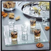Crystal Clear Game Night - Tic-Tac-Toe Shot Glass