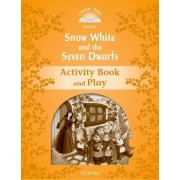 Classic Tales: Level 5: Snow White and the Seven Dwarfs Activity Book & Play by Sue Arengo