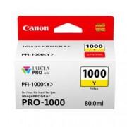 Canon PFI-1000 Yellow Ink Cartridge