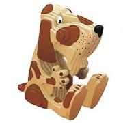 TruTru Animals Dog European 3D Puzzle DIY Craft Kit ; Arts and Crafts Model Kit