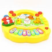 Children Baby Kids Musical Educational Animals Farm Piano Interesting Music Toys Yellow