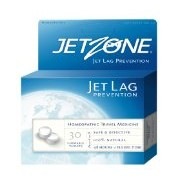 JetZone Jet Lag Prevention Homeopathic, 30 Chewable Tablets