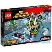LEGO SUPER HEROES Pókember Doc Ock csápcsapdája 76059