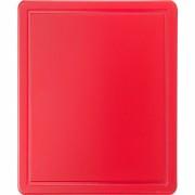 Tocator polietilena 32.5x25.6x1.2 cm - rosu