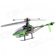 MJX F45 70cm 2.4G 4-CH Single Blade R/C Helicopter - Green + Silver