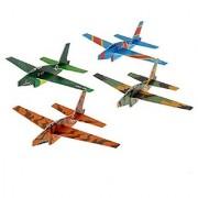 Plane Gliders (12 Pack) 6 1/2 . Fighter Glider.