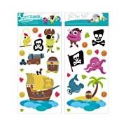 Mikidi Stickers Repositionnables - L' Île au Trésor