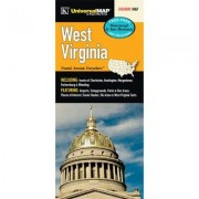 Universal Map West Virginia Waterproof Map 16304