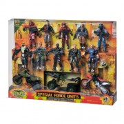 The Corps Special Forces Action Figures and Vehicle Deluxe Playset by The Corps (English Manual)