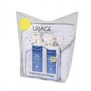 Uriage Kit Natal Cr Lavante 500 ml + 1ª Leite 400 ml+ oferta Toalha