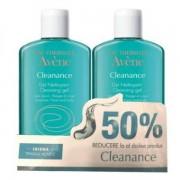 Pachet Gel de curatare Avene Cleanance 200ml, 1+50% reducere la al doilea, Avene