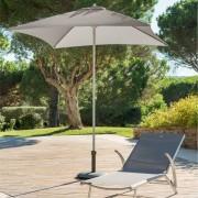 Hespéride Parasol Anzio taupe Jardin