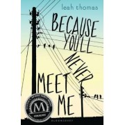 Because You'll Never Meet Me by Leah Thomas