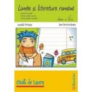 Limba si literatura romana - Caiet de lucru pentru clasa a 5-a.