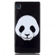Husa de protectie Slim TPU pentru Sony Xperia Z5, Panda