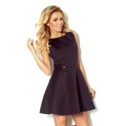 S-a-F Luxusní dámské společenské a plesové šaty SHIM.cz 782 bez rukávu černé - L, černá