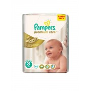 Scutece Pampers Premium Care 3 Midi Jumbo Pack 80 buc