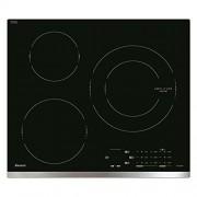 Sauter SPI4360X - Table de cuisson à induction - 3 fraise-mères - Niche - largeur : 56 cm - profondeur : 49 cm - noir