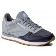 Обувки Reebok - Cl Leather Ls BD6078 Meteor Grey/Cllg Navy