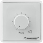 OMNITRONIC PA Volume Controller 10W stereo wh