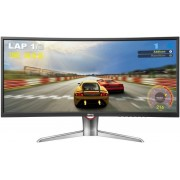 "Monitor LED BenQ 35"" XR3501, QHD, HDMI, Display Port, 4ms GTG (Negru)"