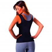 ER Quema De Grasa Breast Care Body Sculpting Ropa Abdomen Fitness Yoga-Negro