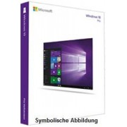 Microsoft MS Windows 10 Pro (64Bit) deutsch Vollversion (DVD)