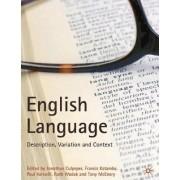 The English Language by Jonathan Culpeper
