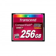 Card Transcend Compact Flash 256GB 800x