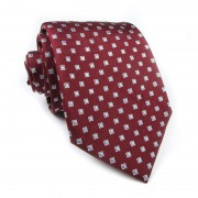 Cravatta seta a quadri CRISTIAN BERG