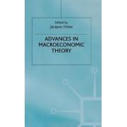 Advances in Macroeconomic Theory by Jacques H. Dreze