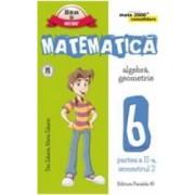 Matematica cls 6 partea II sem 2 consolidare ed.5 - Dan Zaharia Maria Zaharia