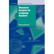 Discourse Analysis for Language Teachers by Michael McCarthy