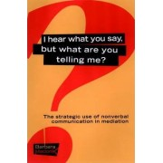 I Hear What You Say, But What are You Telling Me? by Barbara Madonik
