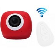 Camera Video Sport iUni Dare G3i, Filmare Full HD, 12MP, Waterproof, Wi-Fi (Rosu)