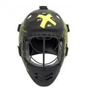 Exel Brankářská maska Exel G2 HELMET JR `16 Junior černá / neonově žlutá