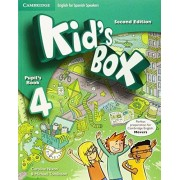Caroline Nixon Kid's Box for Spanish Speakers Level 4 Pupil's Book Second Edition