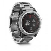 Garmin Fenix 3 HR Plateado/Titanio - Reloj GPS multideporte, GPS