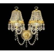 Crystal wall sconce 4031 02/19HK-184SW