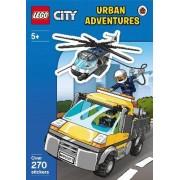 LEGO City: Urban Adventures Sticker Activity Book by Unknown