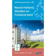 Fietskaart 5 Knooppuntenkaart Noord-Holland, Wadden en Friesland west | ANWB Media