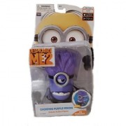Despicable Me 2 Chomping Purple Minion Deluxe Action Figure