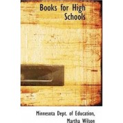 Books for High Schools by Minnesota Dept of Education