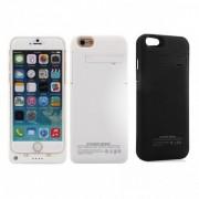 Baterie Externa Husa Alba iPhone 6 Power Bank 3200mAh