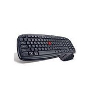 Iball Dusky Duo Cordless Wireless Keyboard & Mouse Combo - Black
